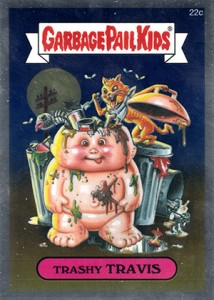 See the 2013 Topps Garbage Pail Kids Chrome C Variations  9