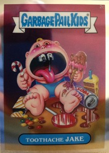 See the 2013 Topps Garbage Pail Kids Chrome C Variations  1