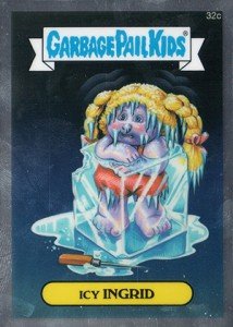 See the 2013 Topps Garbage Pail Kids Chrome C Variations  13