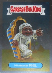 See the 2013 Topps Garbage Pail Kids Chrome C Variations  16