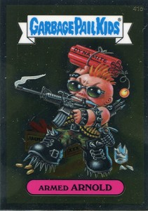 See the 2013 Topps Garbage Pail Kids Chrome C Variations  18