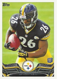 2013 Topps Football Variation Short Prints Guide 95