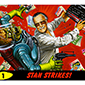 Stan Lee Swings the Mighty Typewriter of Doom on Mars Attacks Promo Card