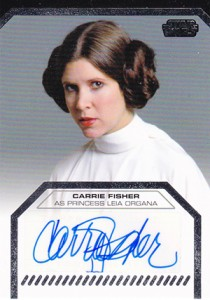 2013 Topps Star Wars Galactic Files 2 Autographs Guide 3