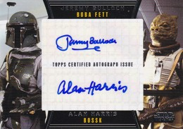 2013 Topps Star Wars Galactic Files 2 Autographs Guide 18