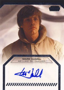 2013 Topps Star Wars Galactic Files 2 Autographs Guide 12