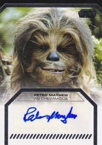 2013 Topps Star Wars Galactic Files 2 Autographs Guide 15