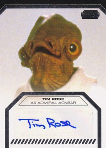 2013 Topps Star Wars Galactic Files 2 Autographs Guide 17