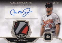 2013 Topps Tier One Baseball Cards 6
