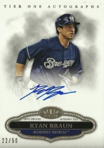 2013 Topps Tier One Baseball Cards 4