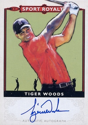 Top Tiger Woods Golf Cards to Collect 8