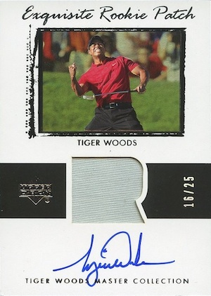 15 Majors for Tiger! Top Tiger Woods Golf Cards 14