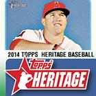 2014 Topps Heritage Baseball Cards