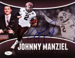 Johnny Manziel Cards, Rookie Cards, Key Early Cards and Autographed Memorabilia Guide 120