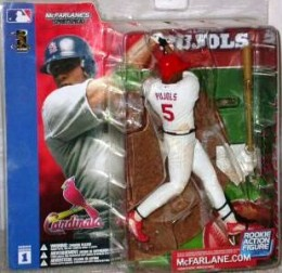 Series 1 Albert Pujols - Right-White Variant