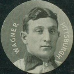 1909 Colgan's Chips Stars of the Diamond Honus Wagner #212