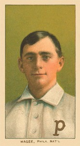 1909 T206 Sherry Magee