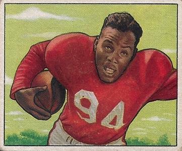 1950 Bowman Football Cards 1