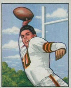 1950 Bowman Otto Graham RC