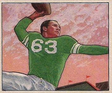 1950 Bowman YA Tittle RC