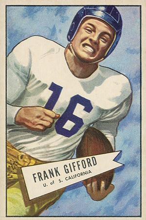 1952 Bowman Large Football Cards 1