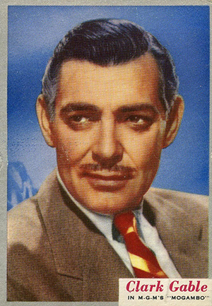 1953 Topps Who-z-at Star Clark Gable