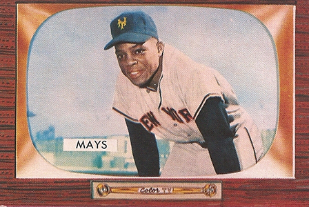 1955 Bowman Willie Mays