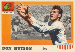1955 Topps All-American Don Hutson