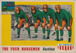 1955 Topps All-American Four Horsemen