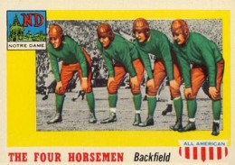 1955 Topps All-American Football Cards 19