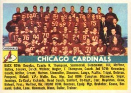 1956 Topps Chicago Cardinals