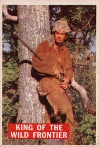 1956 Topps Davy Crockett Orange Back Trading Cards 1