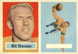 1957 Topps Bill Sherman ERR