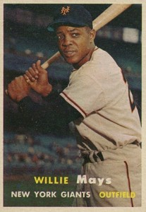 Vintage Willie Mays Baseball Card Timeline: 1951-1974 10