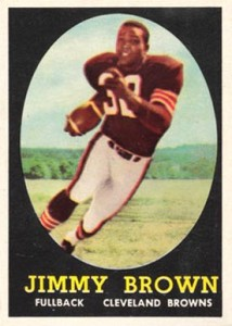 Jim Brown Football Cards, Rookie Cards and Autographed Memorabilia Guide 1
