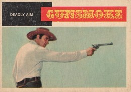 1958 Topps TV Westerns Trading Cards 1