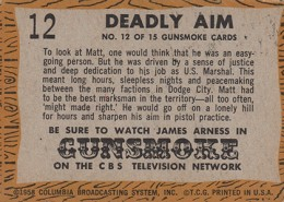 1958 Topps TV Westerns Trading Cards 2
