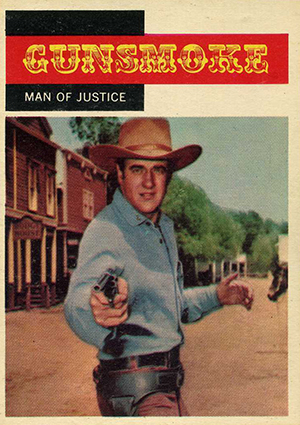 1958 Topps TV Westerns Trading Cards 21