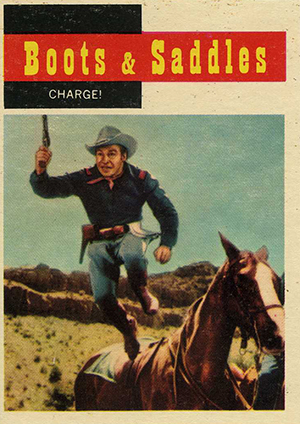 1958 Topps TV Westerns Trading Cards 22