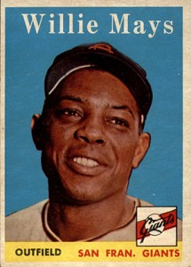 Vintage Willie Mays Baseball Card Timeline: 1951-1974 11