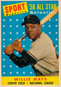 Vintage Willie Mays Baseball Card Timeline: 1951-1974 13