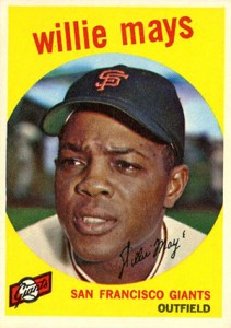 Vintage Willie Mays Baseball Card Timeline: 1951-1974 14