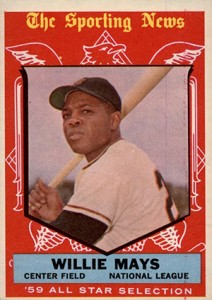 Vintage Willie Mays Baseball Card Timeline: 1951-1974 17