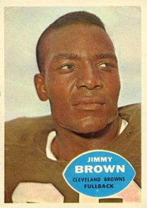 1960 Topps Jimmy Brown