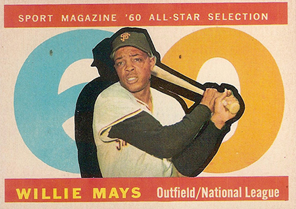 Vintage Willie Mays Baseball Card Timeline: 1951-1974 41