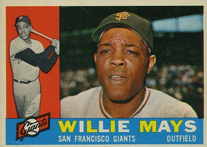 Vintage Willie Mays Baseball Card Timeline: 1951-1974 39