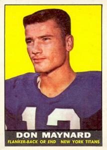 1961 Topps Don Maynard