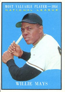 Vintage Willie Mays Baseball Card Timeline: 1951-1974 44