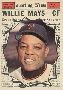 Vintage Willie Mays Baseball Card Timeline: 1951-1974 45