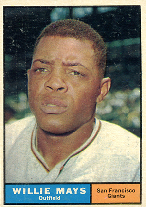 Vintage Willie Mays Baseball Card Timeline: 1951-1974 42